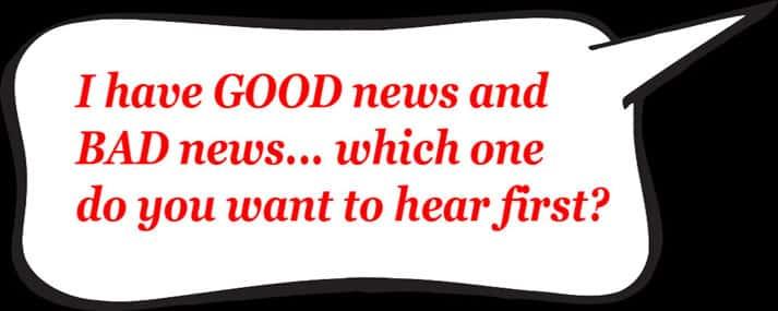 The Bad News Good News 8451918